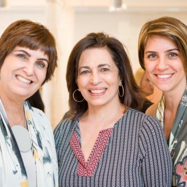 Margarida Vianna, Ana Maria Indio e Carolina Calmon